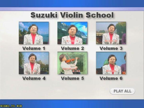 铃木小提琴教材1 10册附小提琴钢琴谱 Suzuki Violin Method Vol 01 10
