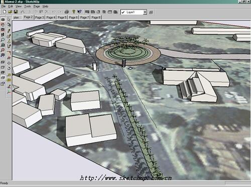 可以导出到archicad中进一步建筑设计  4.